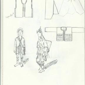 旅のスケッチ2 衣装