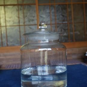 今週のお繕い:ガラス瓶