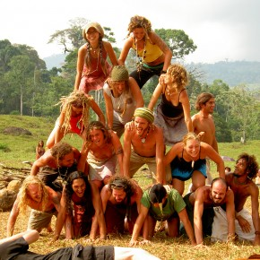 Rainbow Gathering 2005 in Mexico